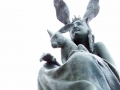 Hare Queen (Detail) - Fidelma Massey